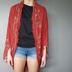 American Eagle shawl